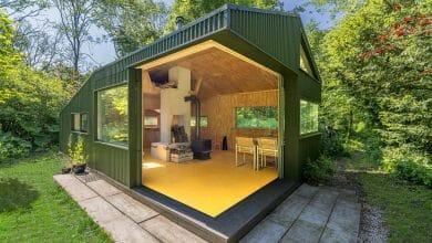Photo of Diseño de cabaña pequeña de 35 metros cuadrados, descubre cómo integrar la casa con la naturaleza