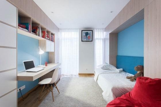 Dormitorio departamento de niños