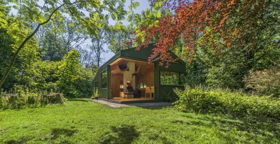 Hermosa cabaña moderna