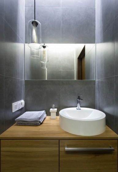 Lavatorio circular baño