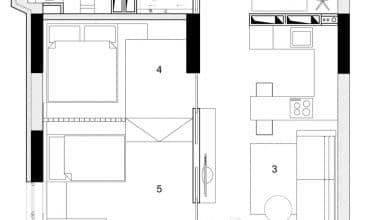 Photo of Departamentos pequeños para parejas con hijos, incluimos planos de distribución y diseño de interiores