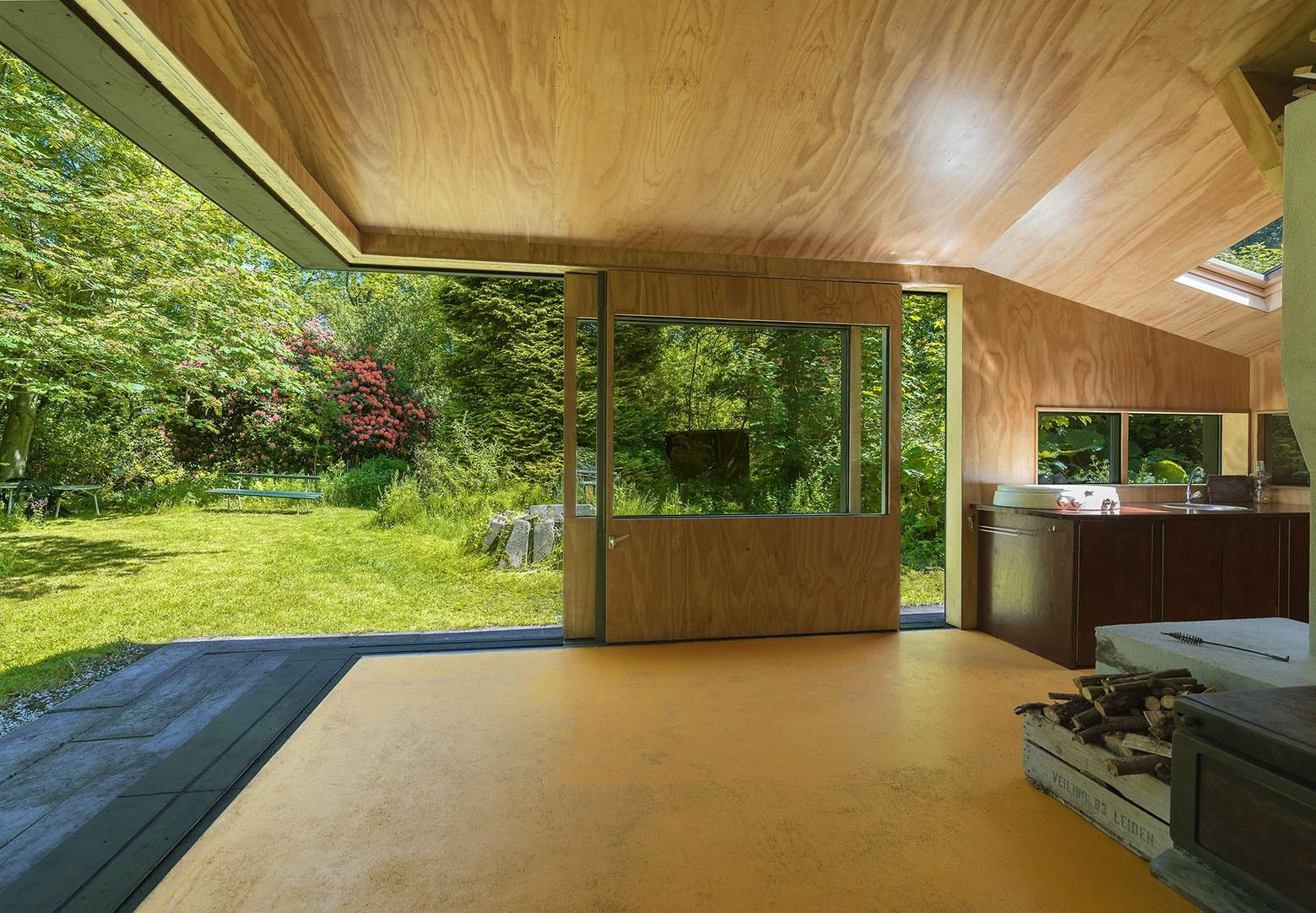 Diseño de cabaña pequeña de 35 metros cuadrados | Construye Hogar