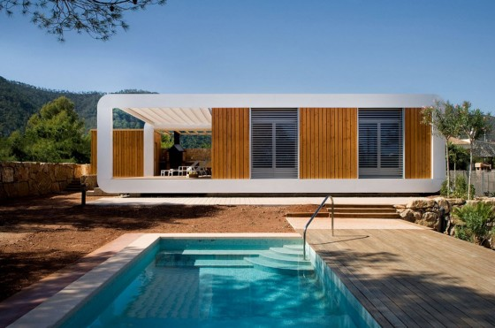 Casa ecológica y tecnológica