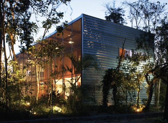 Diseño casa campo anti mosquitos