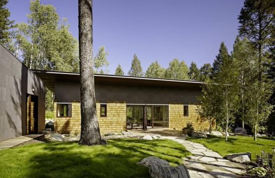 Diseño casa campo de dos dormitorios