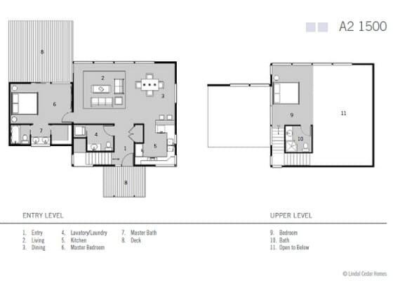 Dise os de casas ideas con fotos y planos construye hogar for Casa clasica procrear 1 dormitorio