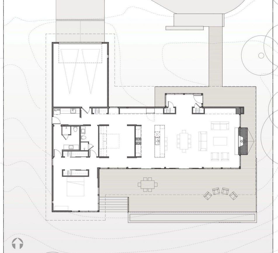 Dise os de casas de campo construye hogar for Planos de casas de campo modernas
