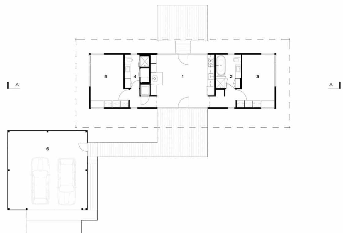 Dise os de casas de campo construye hogar for Planos de casas minimalistas pequenas