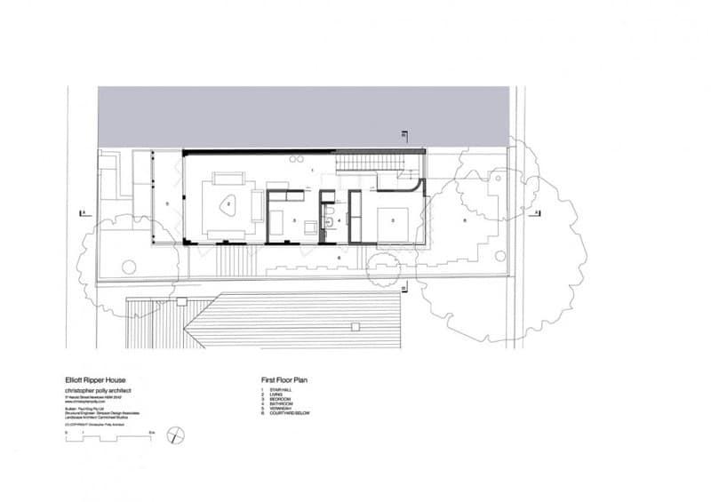 Ideas para casas en terrenos peque os construye hogar - Plano de la casa ...