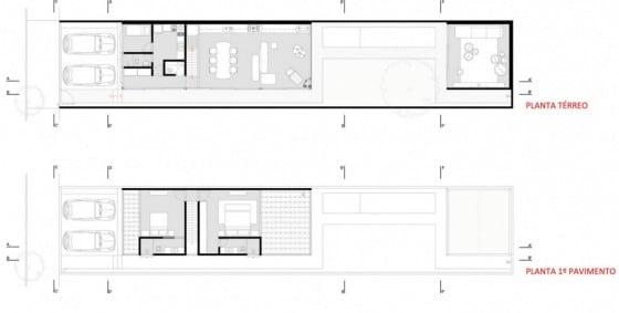Dise os de casas ideas con fotos y planos construye hogar for Cocina larga y angosta