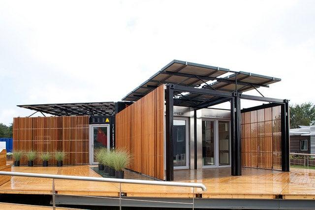 Dise os de casas con containers reciclados for Container oficina