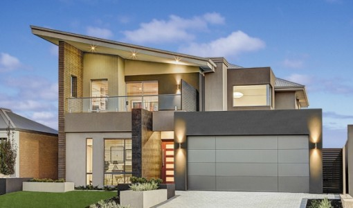 Casas de dos pisos construye hogar part 4 - Materiales para fachadas modernas ...