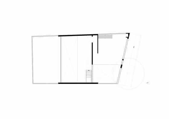 Plano del segundo piso mezzanine