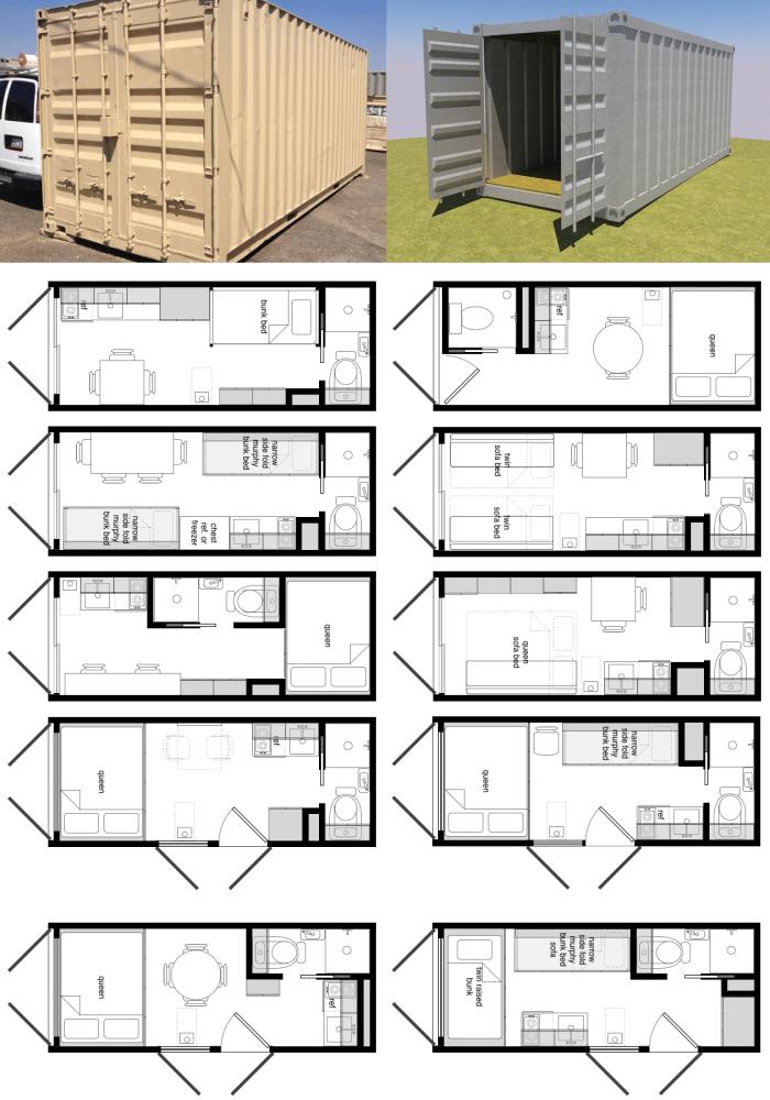 Dise os de casas con containers reciclados for Diseno de oficinas con contenedores