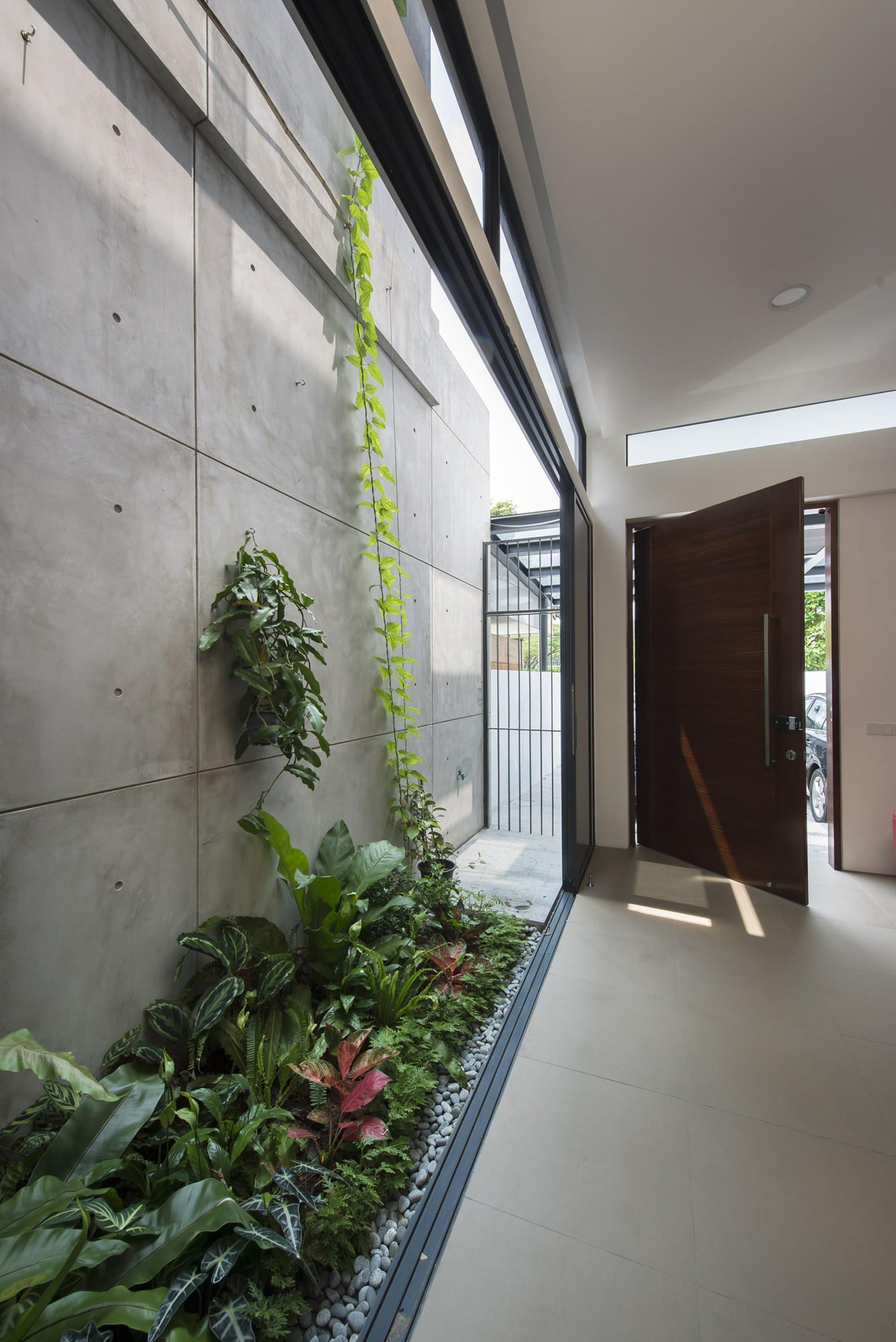 Planos peque a casa de dos pisos moderna for Diseno de iluminacion de interiores