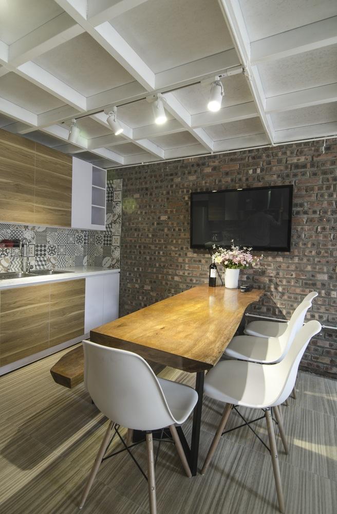 Idea casa peque a y econ mica 46 m for Diseno cocina economica