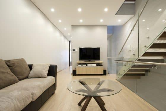 Diseño de sala moderna pequeña