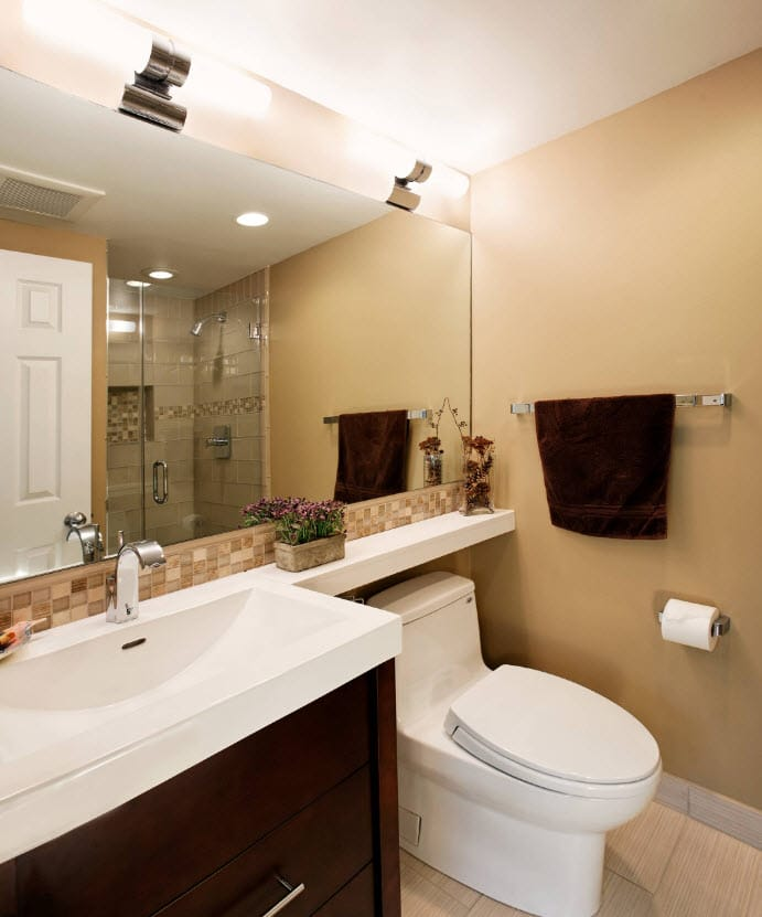 Diseño de cuartos de baño, cómo distribuir y decorar [Fotos]