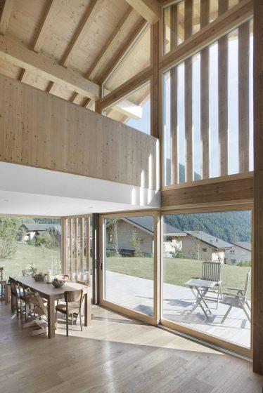 Diseño de interiores con madera