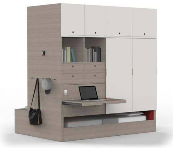 Mueble especial para departamentos pequeños