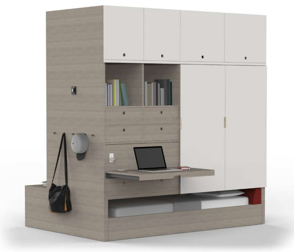 Ideas de dise o de departamentos peque os construye hogar - Muebles para apartamentos pequenos ...