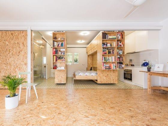 Ideas de dise o de departamentos peque os construye hogar for Departamento pequenos distribucion