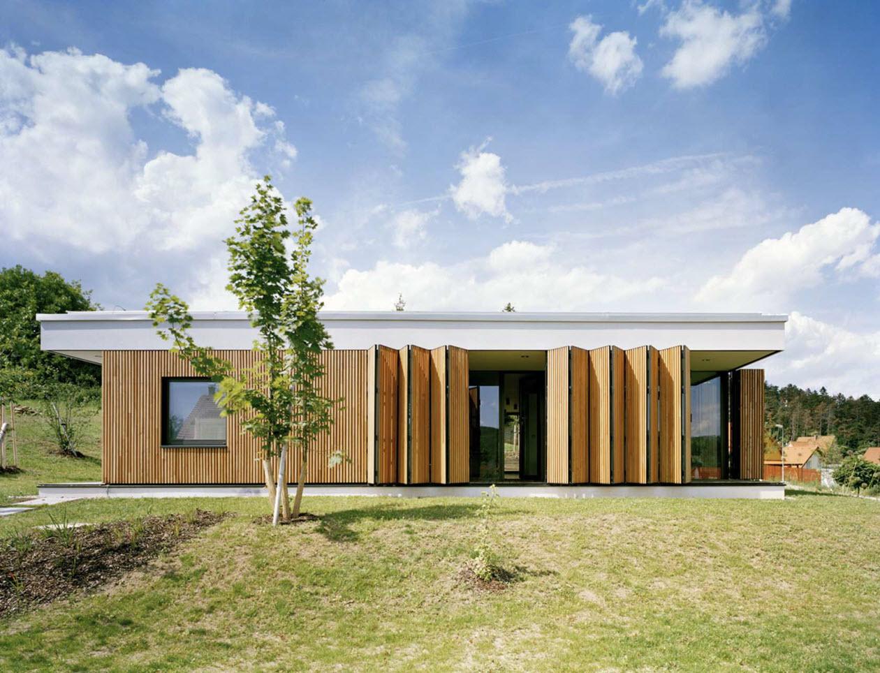 Moderna casa de un piso tres dormitorios construye hogar - Diseno casa moderna ...