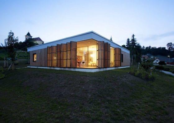 Moderna casa de una planta