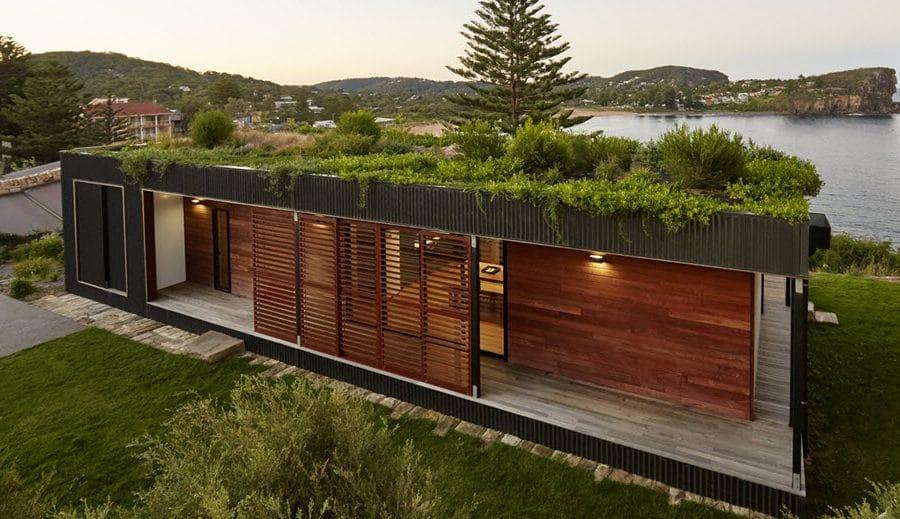 Dise o de casa de campo de un piso moderna construye hogar - Diseno de casas de campo ...