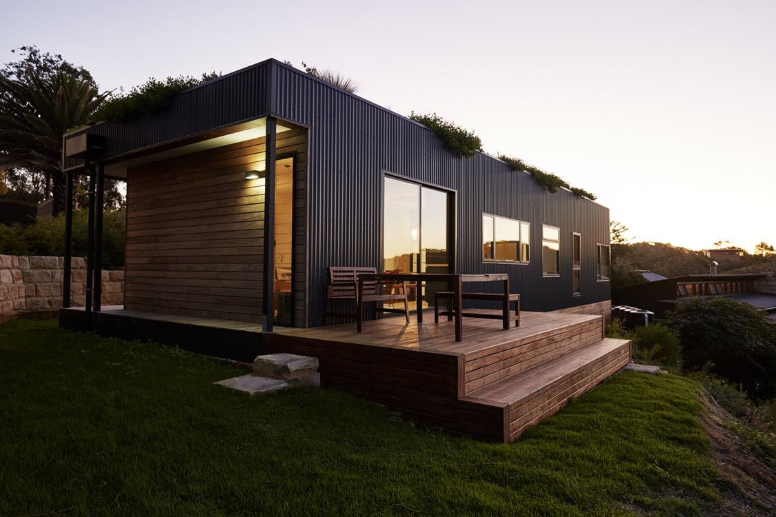 Diseño de casa de campo de un piso moderna | Construye Hogar