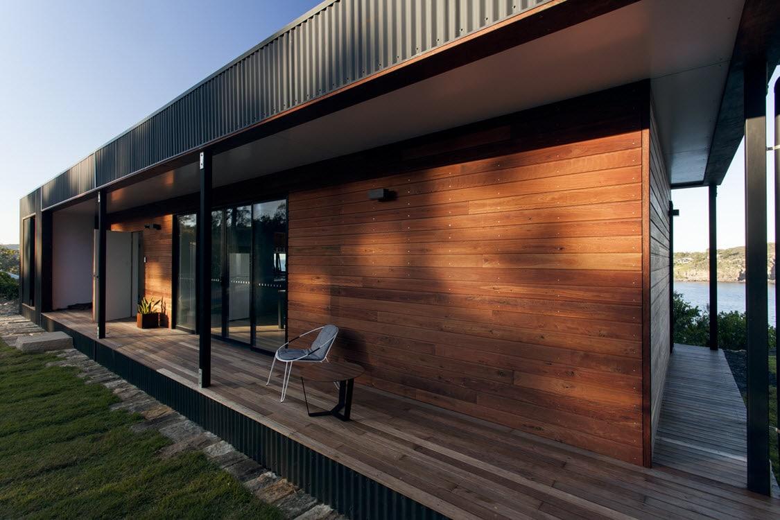 Dise o de casa de campo de un piso moderna for Casa rural moderna