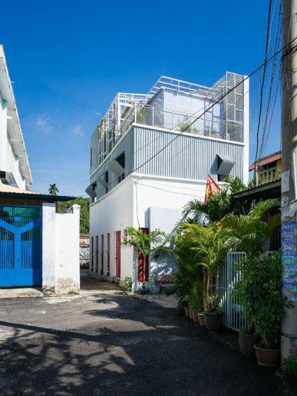 Casa econ mica moderna de 50 metros cuadrados for Casa moderna economica