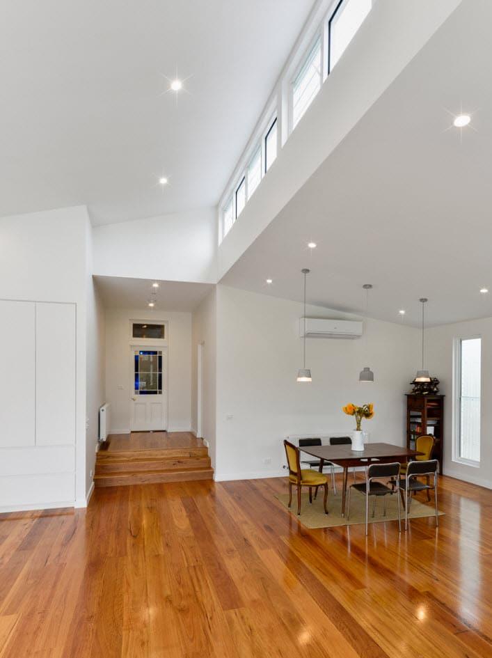 Dise o de casa moderna de un piso planos y fachadas - Disenos de pisos para interiores ...