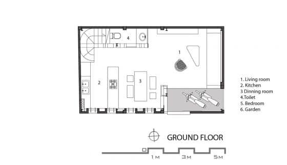 Casa econ mica moderna de 50 metros cuadrados for Casa moderna 50 metros cuadrados