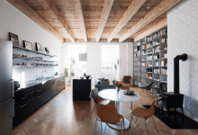 Photo of Diseño de departamento pequeño, expone acabados de construcción clásicos con moderno equipamiento
