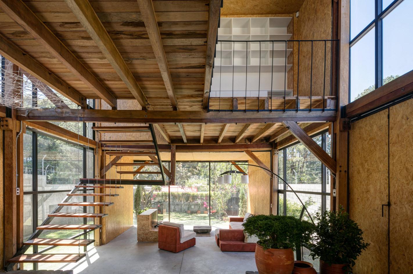 Diseño casa económica de dos pisos   Construye Hogar
