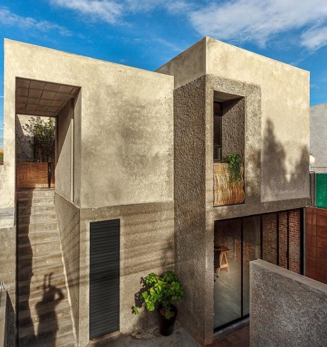 Planos casa de dos pisos econ mica construye hogar for Diseno casas minimalistas economicas