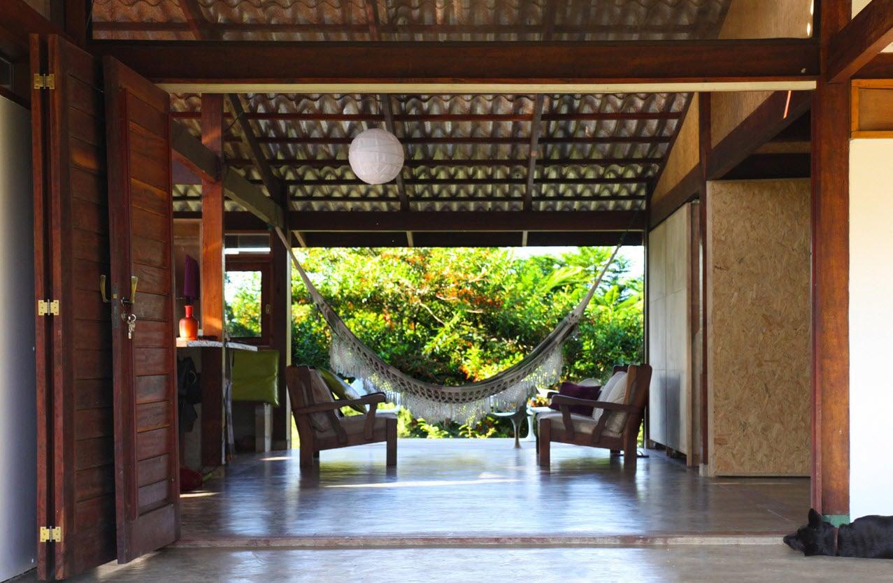 Dise o de casa de campo peque a de madera - Ideas para construir casas campo ...