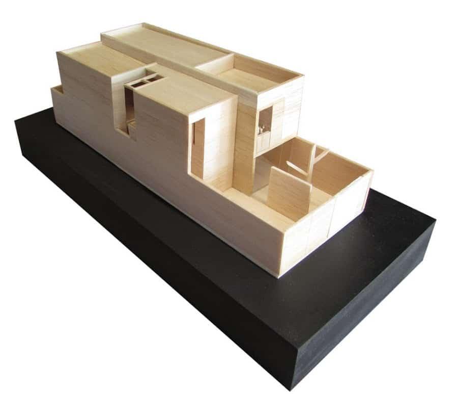 Planos casa de dos pisos econ mica construye hogar for Casa moderna maqueta