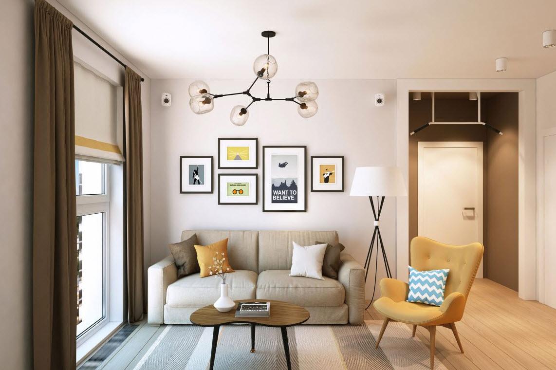 Departamento peque o para pareja joven construye hogar for Ideas para interiores
