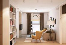 Photo of Diseño de pequeño departamento diseñado para una pareja joven [Plano y decoración de interiores]