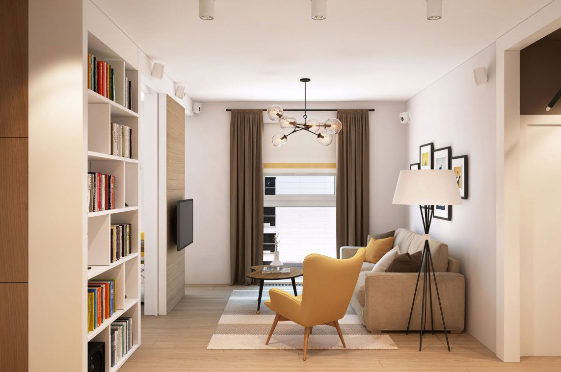 Departamento peque o para pareja joven construye hogar for Decoracion minimalista para departamentos pequenos