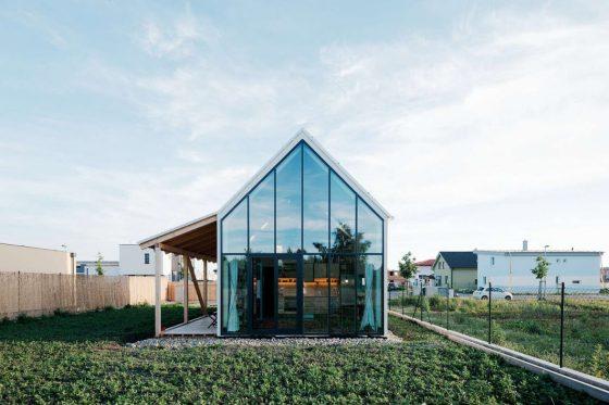 Dise o casa de campo moderna construye hogar for Casas de campo modernas 2017