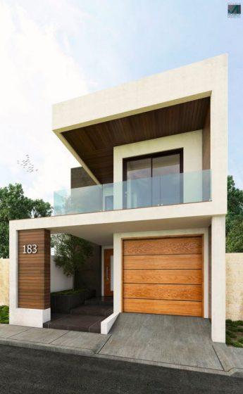 Fachadas de casas modernas de dos pisos - Disenos casas modernas ...