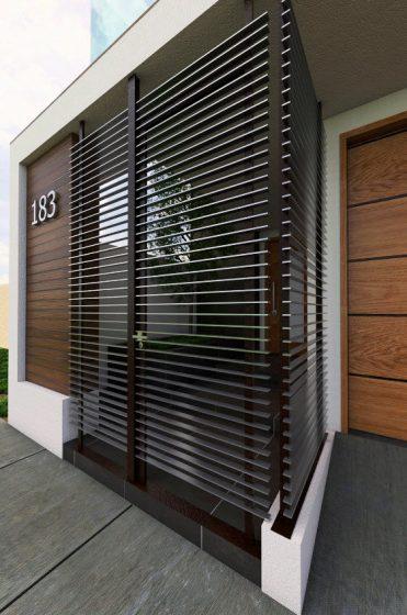 Diseño de rejillas de protección de puertas