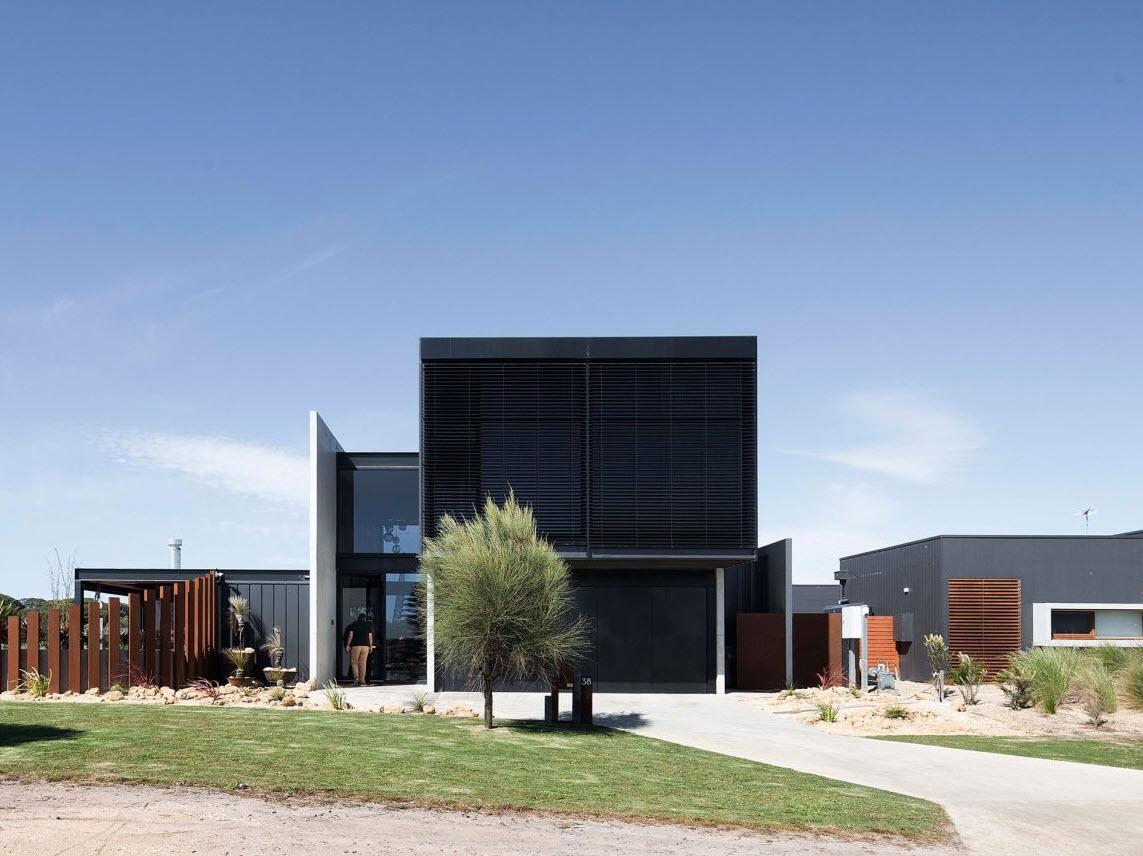 Dise o casa de dos pisos contempor nea construye hogar for Casas contemporaneas de dos pisos