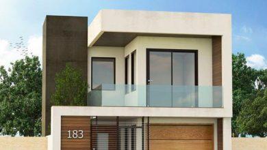 Photo of Fachadas de casas modernas de dos pisos, fotos y detalles constructivos