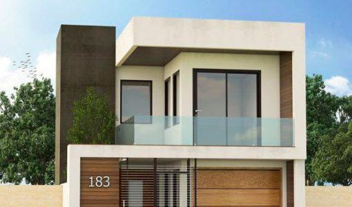 Fachadas de casas construye hogar part 2 for Casas modernas de dos pisos 2017