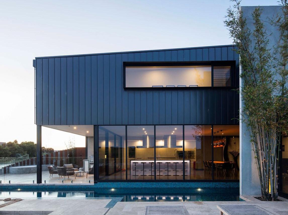 Dise o casa de dos pisos contempor nea for Case contemporanee