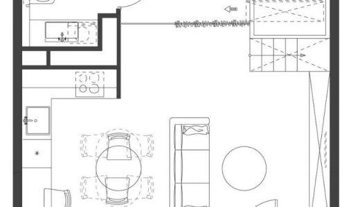 Construye hogar planos de casas y construcci n part 6 for Departamentos 35 metros cuadrados